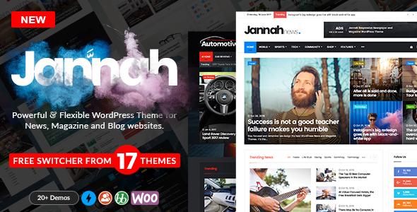 Jannah - WordPress News Magazine Blog & BuddyPress Theme - OXICAT ...