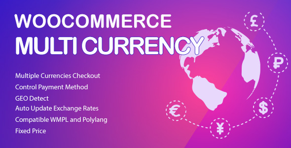WooCommerce Multi Currency - Currency Switcher - OXICAT Boutique