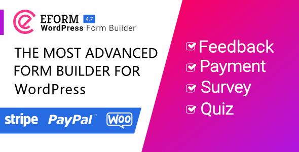 eForm - WordPress Form Builder - OXICAT Boutique