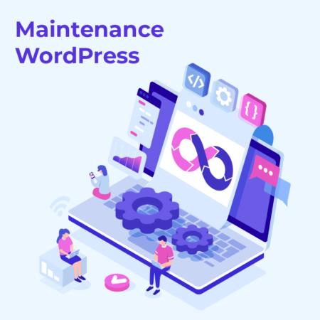 Maintenance site WordPress